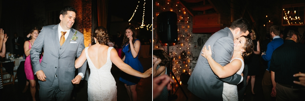 These are more photos of Rachel and Seth dancing.