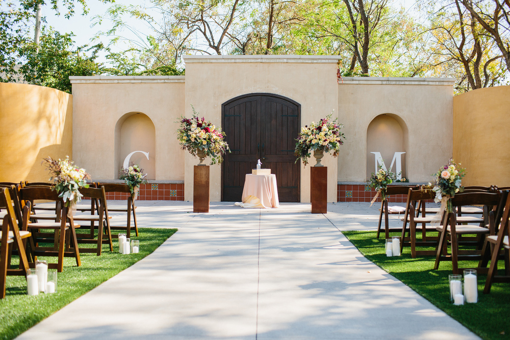 The gardens at los robles greens wedding christina mike for Best wedding venues california