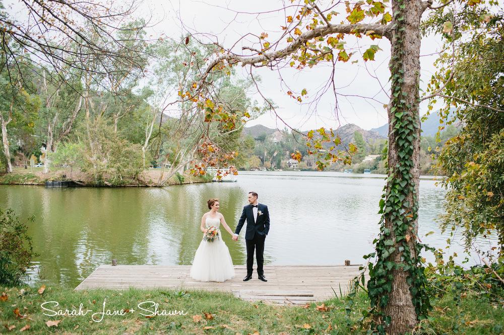 Malibou Lake Mountain Club Wedding Sarah Jane Shawn Pie Shoppe