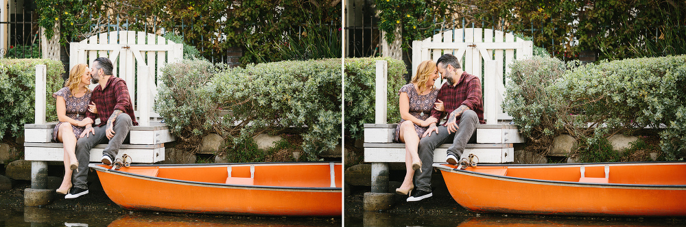 The couple by the water.