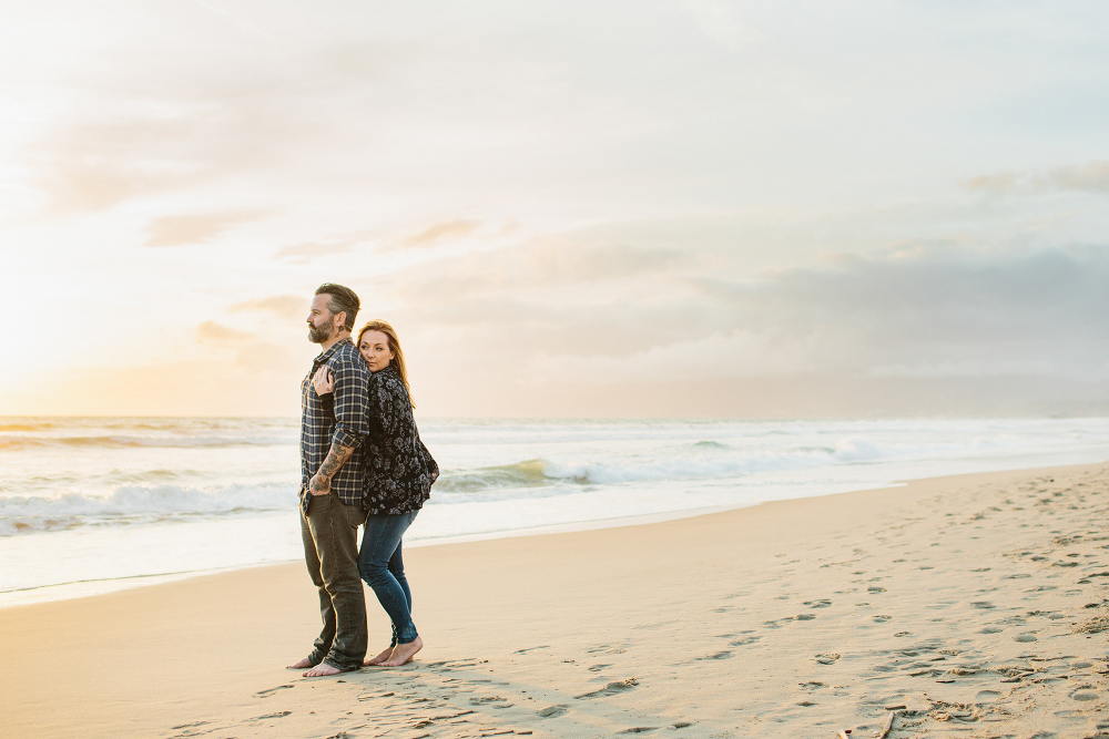 Max and Drew on the Venice beach.