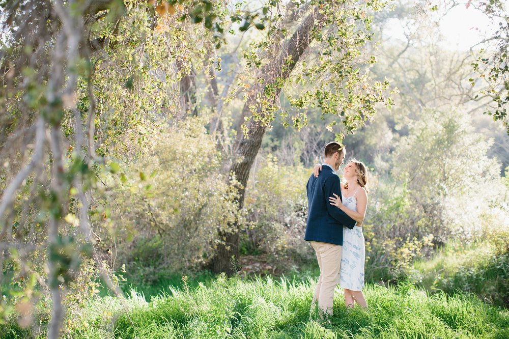 Kara and Sean love nature.