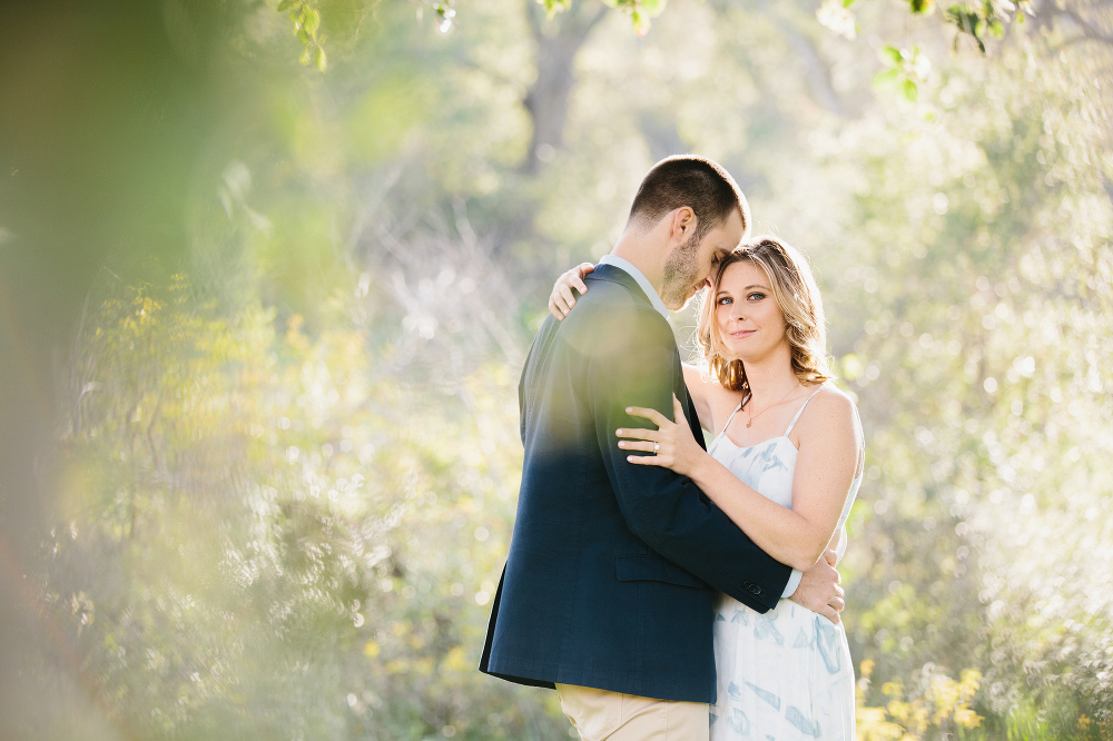 Kara looking at the camera.