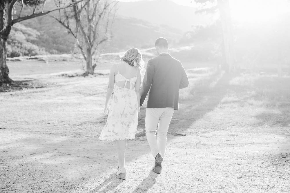 A black and white photo.
