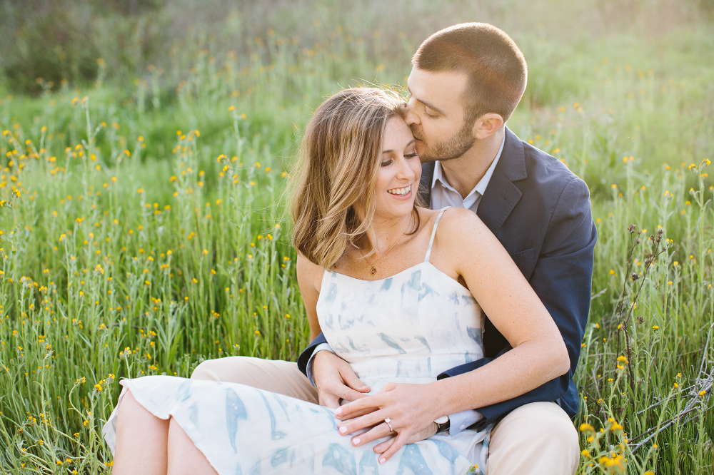 Sean kissing Kara