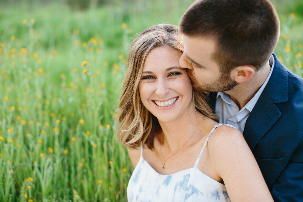 A sweet photo of the couple.