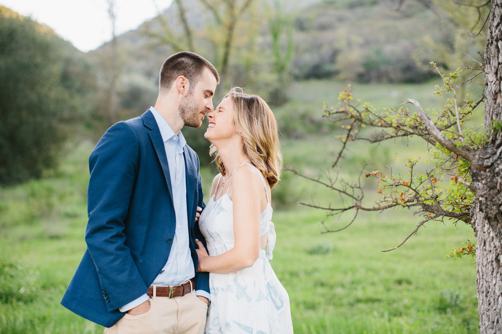 Kara laughed a lot during the session.