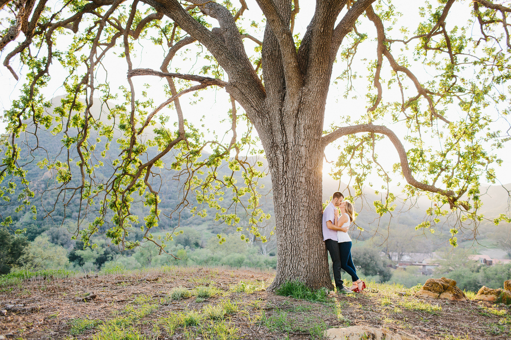 Kara and Sean with a beautiful view.