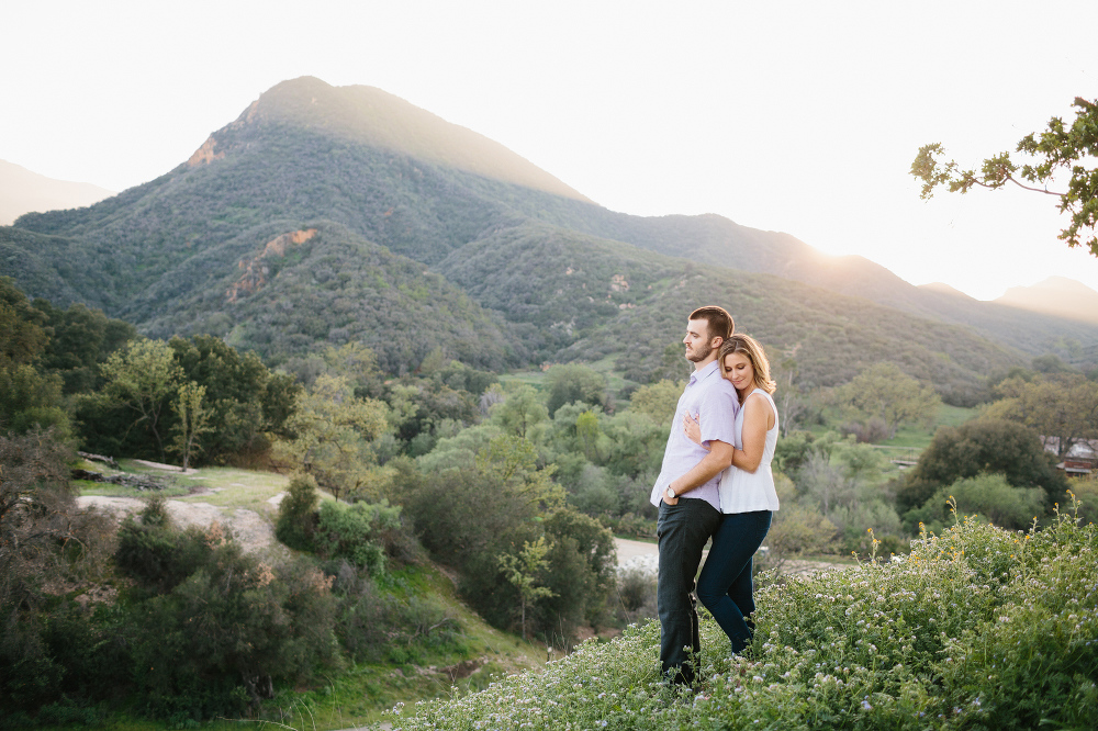Mountains in the background.
