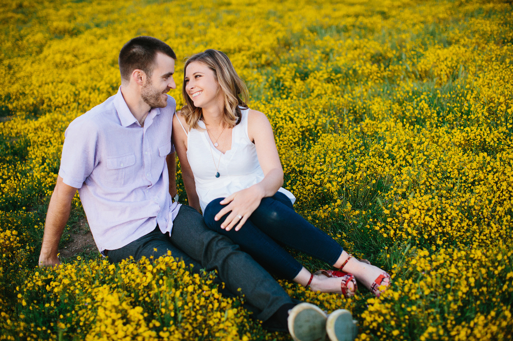Kara and Sean sitting together.