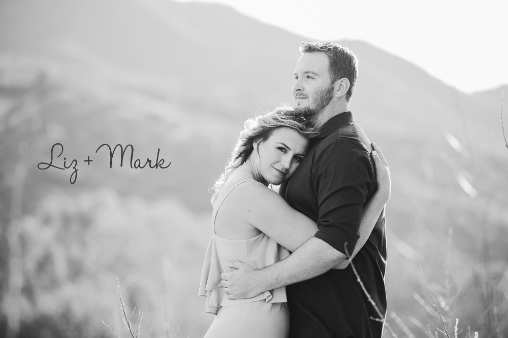 California engagement photography in malibu