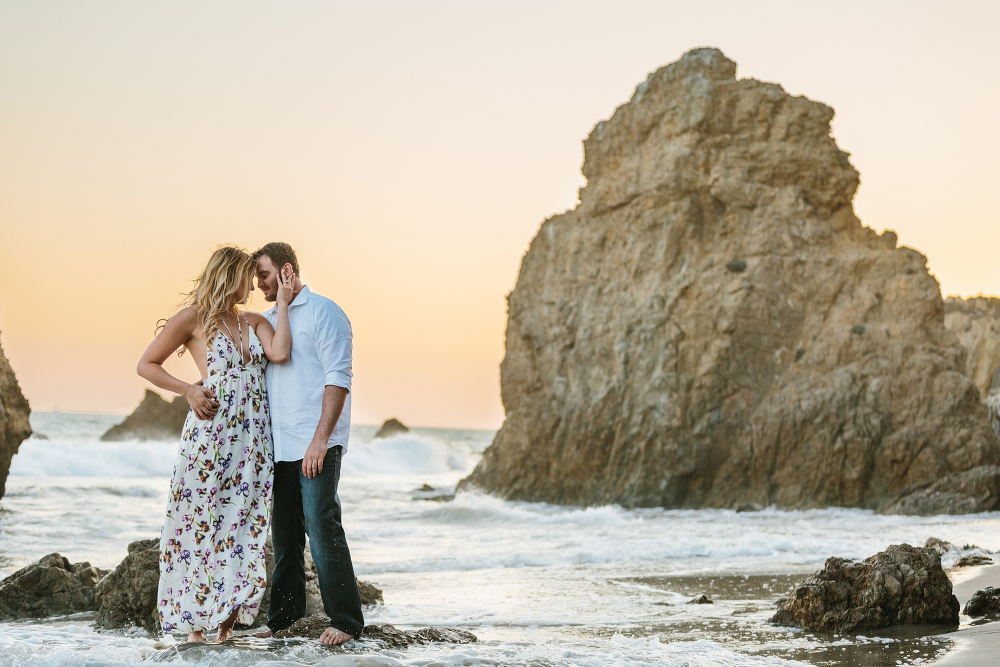 Southern california Malibu engagement photographer